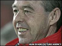 Wales Under-21 manager Brian Flynn