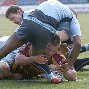 Huddersfield prop Darrell Griffin is another surprise inclusion