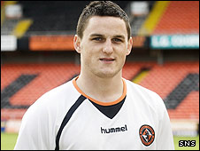 Dundee United winger Craig Conway