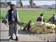Militants in Waziristan