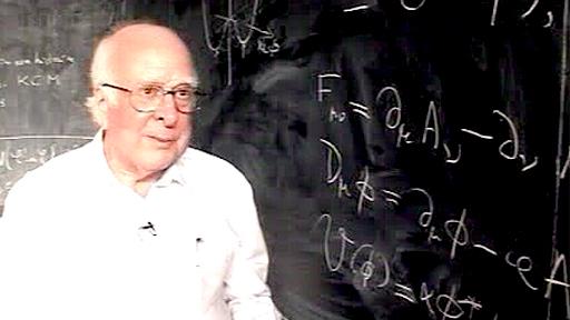Edinburgh physicist Peter Higgs
