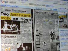 Google digitises papers