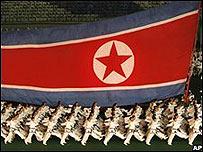 Parada en Corea del Norte