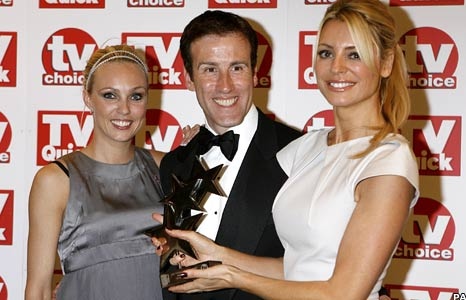Camilla Dallerup, Tess Daly and Anton Du Beke