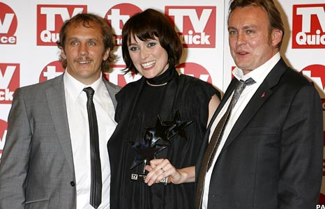 Dean Andrews, Keeley Hawes and Philip Glenister