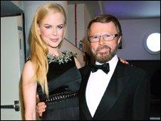 Nicole Kidman and Bjorn Ulvaeus
