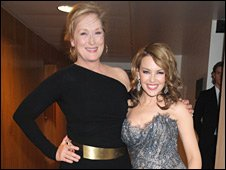 Meryl Streep and Kylie Minogue