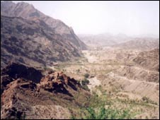 Khyber Pass at Torkhum, the Border post with Afghanistan