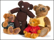 Teddy bears on sale