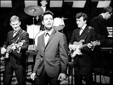 Cliff Richard and the Shadows in 1962