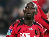 Cameroon and Rennes midfielder Stephane Mbia