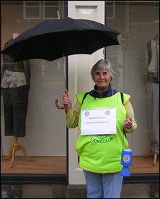 Appeal collector Greta Gradon
