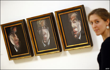 Three studies for a Self-Portrait 1980 - � Estate of Francis Bacon. All Rights Reserved, DACS 2008