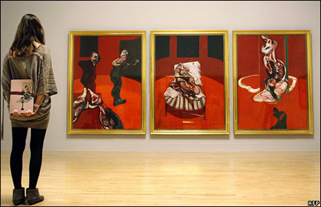 Three Studies for a Crucifixion 1962 - � Estate of Francis Bacon. All Rights Reserved, DACS 2008