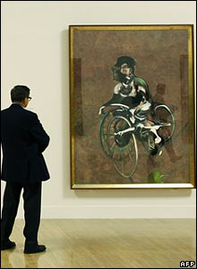 Portrait of George Dyer Riding a Bicycle, 1966  - � Estate of Francis Bacon. All Rights Reserved, DACS 2008