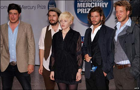 Laura Marling and her band