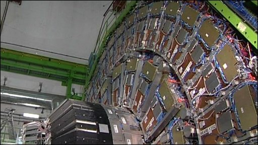 Inside Cern research centre