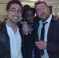 Colin Murray and Elbow