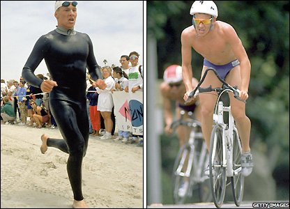 Lance Armstrong started out as a triathlete
