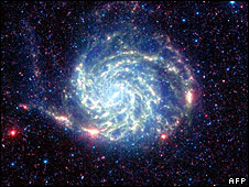 NASA photo of Pinwheel galaxy