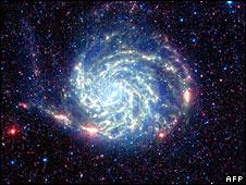 NASA photo of Pinwheel galaxy
