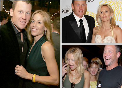 Armstrong had a number of high profile relationships after splitting from wife Kristin Richard