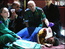 Scene from Casualty