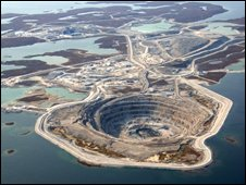 Rio Tinto's Diavik Diamond Mine, Canada