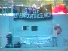 Faslane Naval Base protest
