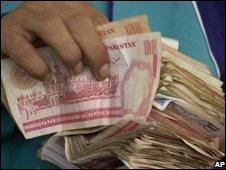 Pakistan rupee notes