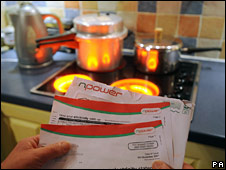 Electric hob and energy bills