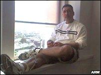 Enriquez in leg irons