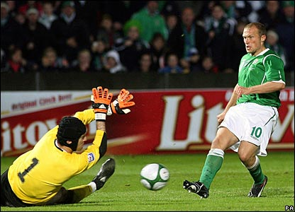 Petr Cech, Czech Republic; Warren Feeney, Northern Ireland