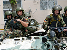 Chechen security forces