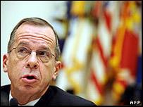 El jefe del Estado Mayor Conjunto de Estados Unidos, el almirante Michael Mullen