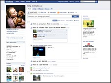 new redesign Facebook