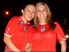 Steph Toman and Becky Handley