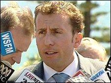 Matt Brown ( image courtesy of ABC News Online)