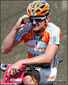 Floyd Landis at the Teva Mountain Games in 2007