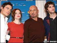 Actors Kevin Zegers, Rose McGowan, Ben Kingsley and Jim Sturgess