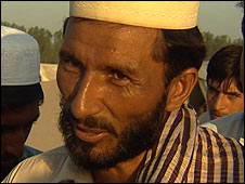 Taheer, a farmer now resident in the Sheikh Yasin camp