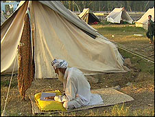 resident of Sheikh Yasin camp