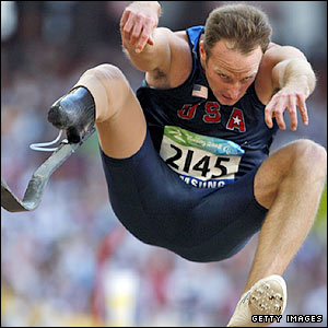US long jumper Casey Tibbs