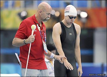 US swimmer Philip Scholz
