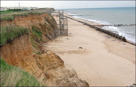 Beach in Happisburgh