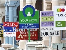 For sale signs (generic)