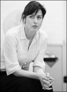 Gina McKee, rehearsal shot