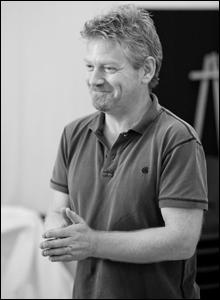 Kenneth Branagh, rehearsal shot