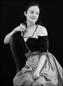 Andrea Riseboroug, rehearsal shot