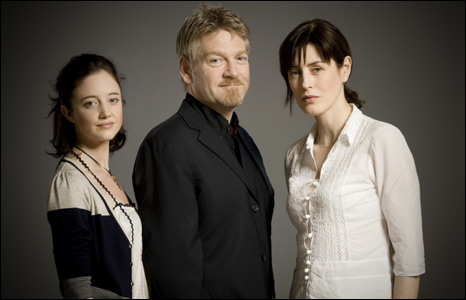 Andrea Riseborough, Kenneth Branagh and Gina McKee